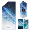 China Supplier Pattern Printing Microfiber Heat Transfer Beach Towel OEM customize design