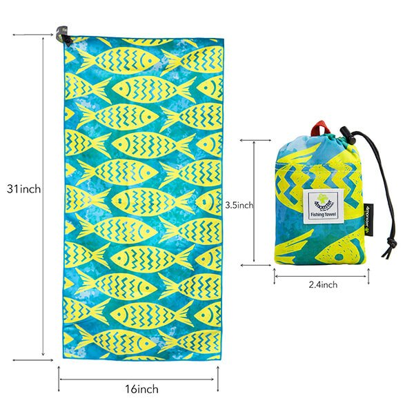 MICROFIBER FISHING TOWEL FOR SWEAT TOWEL OEM FACTORY